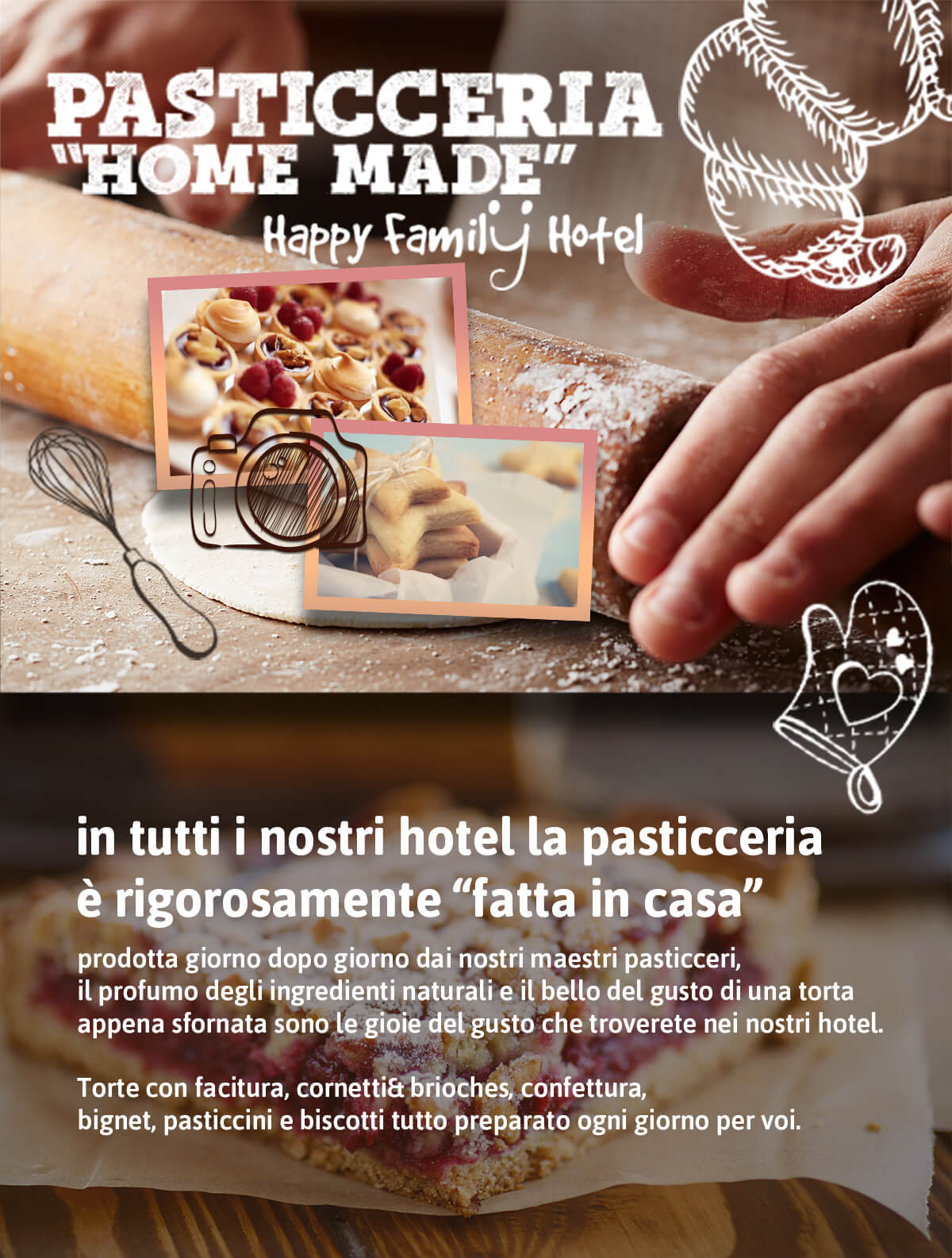 Happy Family Hotel | Pasticceria Home Made